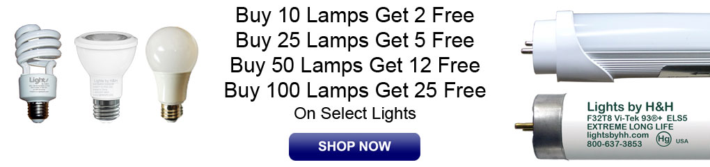 Dog Days of Free Lamps & LED's