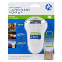 3-In-1 Rechargeable Power Failure LED Night Light