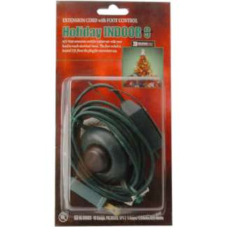 9', 16/2, SPT-2, Green, Christmas Tree Cube Tap Extension Cord