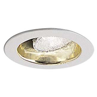 "4"" Adjustable Specular Gold Reflector with White Metal Ring"
