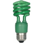 Color Mini Spiral Compact Fluorescent