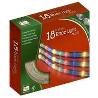Holiday Wonderland, 18', Multi Color Rope Light Set