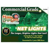 4'x6' Net Light Set Incandescent 150 Clear Lights Commercial Grade