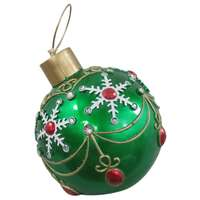 "17"", Green, Oversized Christmas Ornament"