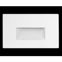 RAB 3W LED Horizontal Steplight Recessed Neutral White