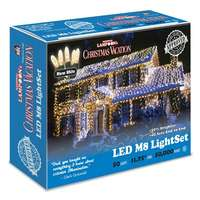 11.75' - 50 Light Set Warm White - M8 LED Commercial Grade