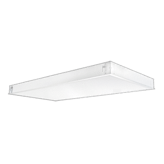 2' x 4' Recessed LED Panel, 44 Watt, 4000K, Dimmable