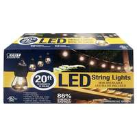 Feit Electric LED String Light Set, 20-Ft.