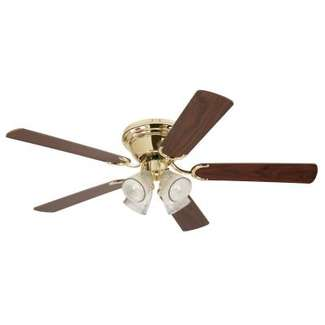 Contempra IV 52-Inch Indoor Ceiling Fan with Light Kit