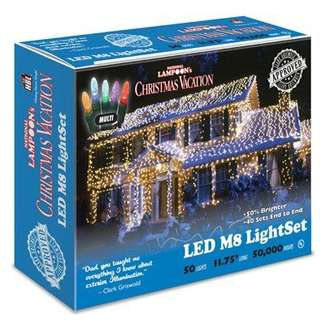 10.21' - 50 Light Set Multicolor - M8 LED Commercial Grade