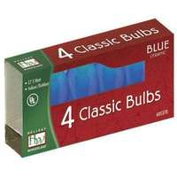 4 Pack - Blue C7 Incandescents Ceramic