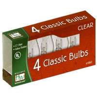 4 Pack - Clear C7 Incandescents