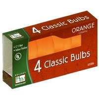 4 Pack - Orange C7 Incandescents Ceramic