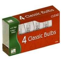 4 Pack - Clear C9 Incandescent