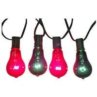 Christmas Lights Replacement Bulb, Edison Style, Red & Green, 7-Watt, 2-Pk.