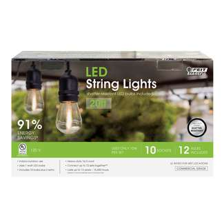 Commercial-Grade S14 String Lights