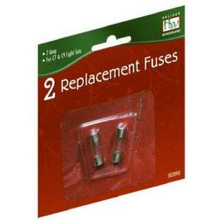 Replacement Fuse, For Old Christmas C7 & C9 Light Set, 7-Amp, 2-Pk.