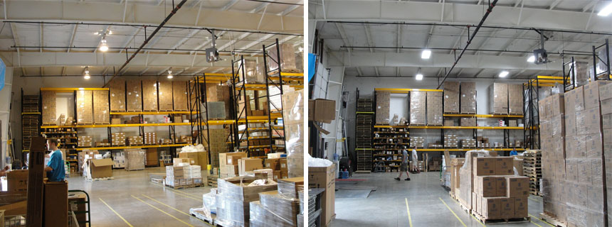 warehouse light conversion