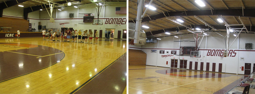 gymnasium light conversion