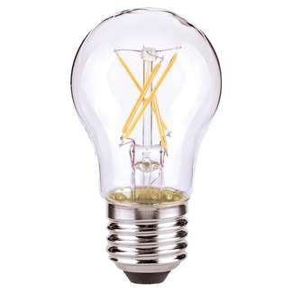 7 Watt - 800 Lumens 2700K - A19 Filament LED 80 CRI - Clear - Dimmable Satco Lighting