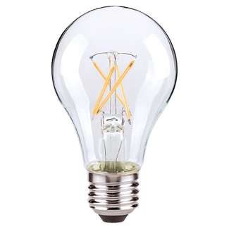 8.5 watt A19 LED; Clear; Medium base; 2700K