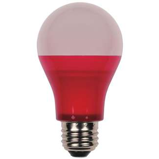 5 Watt - 40W Equivalent Red A-19 LED Not Dimmable Westinghouse