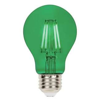 4.5 Watt - 40W Equivalent Green A-19 Filament LED Dimmable Westinghouse