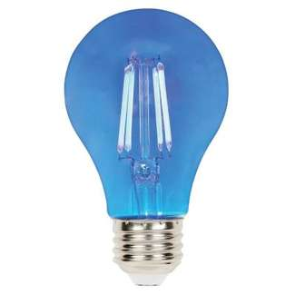 4.5 Watt - 40W Equivalent Blue A-19 Filament LED Dimmable Westinghouse
