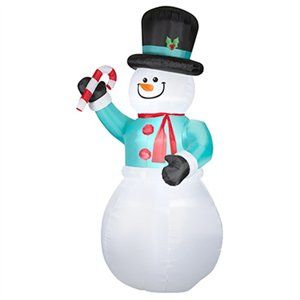 Christmas Inflatable Snowman, 12-Ft.