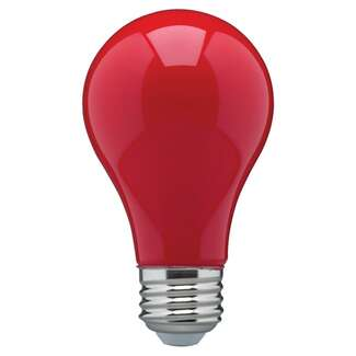 8 Watt - A19 LED Ceramic Red