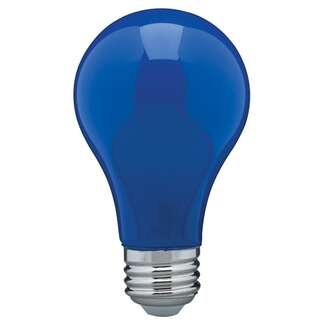 8 Watt - A19 LED Ceramic Blue