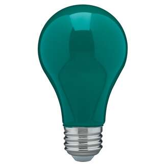 8 Watt - A19 LED Ceramic Green