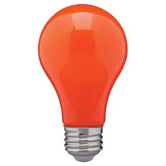 8 Watt - A19 LED Ceramic Orange