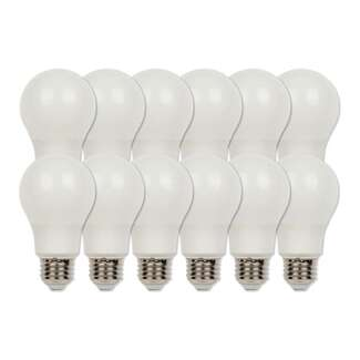 9 Watt - 800 Lumens 2700K - A19 LED (12-Pack) 80 CRI - Non-dimmable Westinghouse