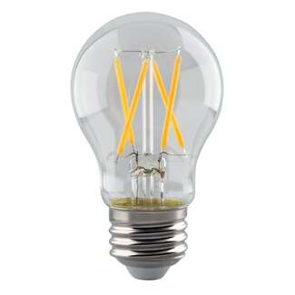 5 Watt - 500 Lumens 2700K - A15 Filament LED 90 CRI - Clear - Dimmable Satco Lighting