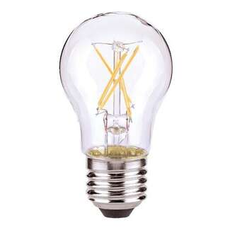 5 Watt - 450 Lumens 2700K - A15 Filament LED 80 CRI - Clear - Dimmable Satco Lighting