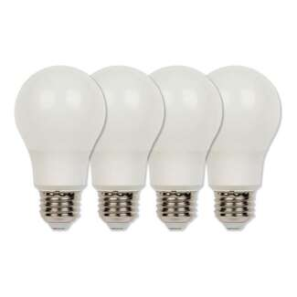 6 Watt - 480 Lumens 3000K - A19 LED 80 CRI - Dimmable 4 Pack Westinghouse