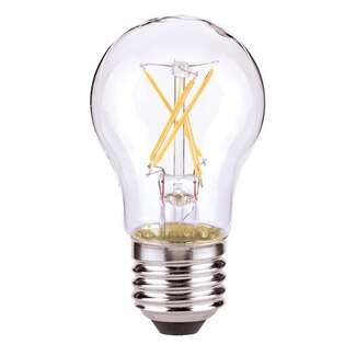 5 Watt - 450 Lumens 3000K - A15 Filament LED 80 CRI - Clear - Dimmable Satco Lighting