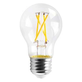 5 Watt - 450 Lumens 3000K - A15 Filament LED 90 CRI - Clear - Dimmable Satco Lighting