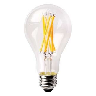 14 Watt - 1,600 Lumens 3000K - A19 Filament LED 90 CRI - Clear - Dimmable Satco Lighting