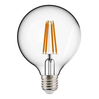 5 Watt - Medium Base 2700K - G25 Filament LED 90 CRI - Frosted - Dimmable RAB Lighting
