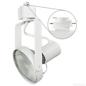 Nora track light nth 147w white par30 front loading gimbal ring mozeypictures Image collections