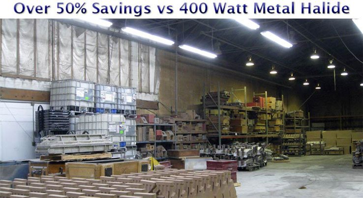 Fluorescent Fixtures vs 400 Watt Metal Halide